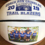 Double Panel Personalized Basketball