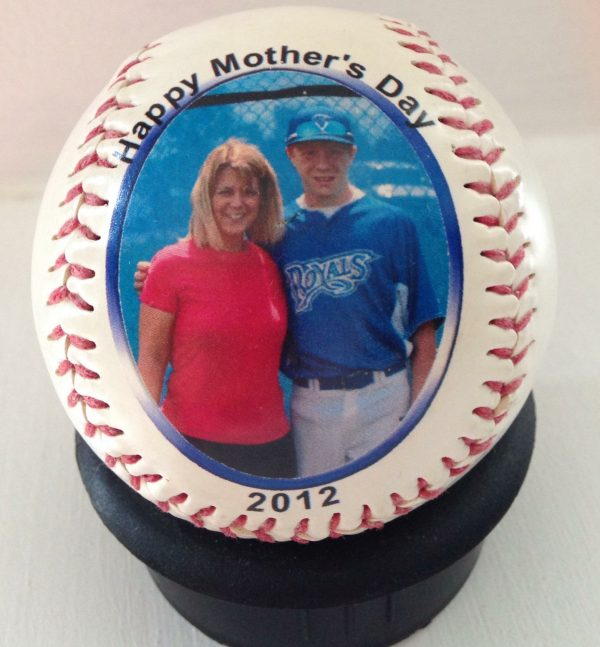 Single Side Baseball Mother's Day